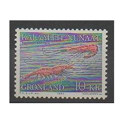 Groenland - 1982 - No 121 - Animaux marins