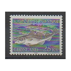 Greenland - 1981 - Nb 117 - Sea animals