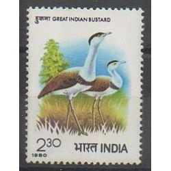 Inde - 1980 - No 643 - Oiseaux