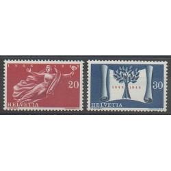 Suisse - 1948 - No 455/456