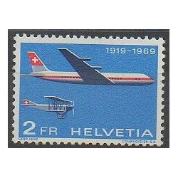 Swiss - 1969 - Nb PA46 - Planes
