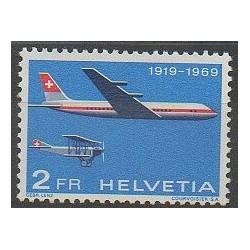 Swiss - 1969 - Nb PA46 - Planes