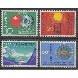 Swiss - 1967 - Nb 791/794