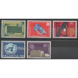 Swiss - 1970 - Nb 850/854
