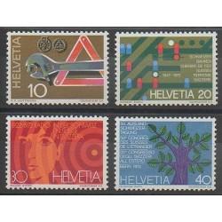 Swiss - 1972 - Nb 895/898