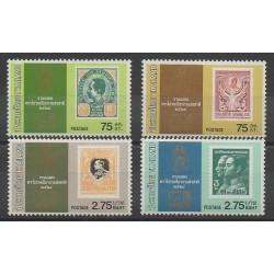 Thaïlande - 1981 - No 953/956 - Timbres sur timbres