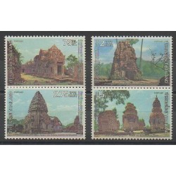 Thailand - 1980 - Nb 927/930 - Monuments