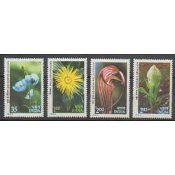 India - 1982 - Nb 709/712 - Flowers