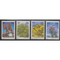 India - 1981 - Nb 678/681 - Trees