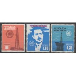 Mexique - 1978 - No 858 - PA453/PA454 - Sciences et Techniques