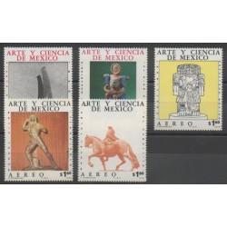 Mexique - 1976 - No PA414/PA418 - Art