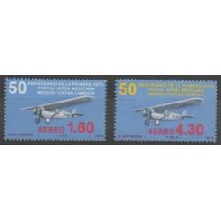 Mexico - 1978 - Nb PA465/PA466 - Planes