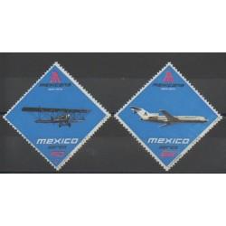 Mexico - 1974 - Nb PA369/PA370 - Planes