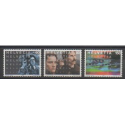 Swiss - 1995 - Nb 1487/1489 - Cinema