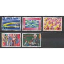 Swiss - 1996 - Nb 1499/1503