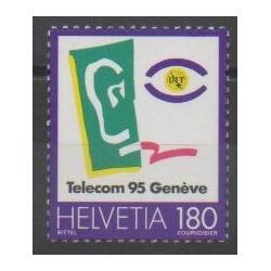 Suisse - 1995 - No 1486 - Télécommunications