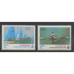 India - 1982 - Nb 742/743 - Various sports