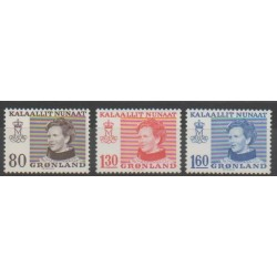 Groenland - 1979 - No 100/102 - Royauté - Principauté
