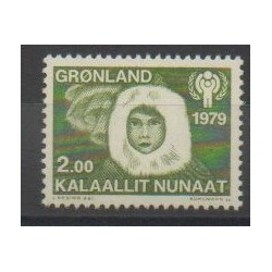 Groenland - 1979 - No 106 - Enfance - Polaire