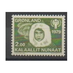 Groenland - 1979 - No 106 - Enfance - Polaire