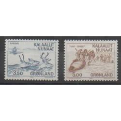 Greenland - 1981 - Nb 119/120 - Polar