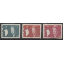 Groenland - 1982 - No 122/123 - 129 - Royauté - Principauté