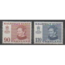 Groenland - 1974 - No 78/79 - Royauté - Principauté