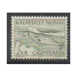 Greenland - 1975 - Nb 80 - Polar - Mamals - Sea animals