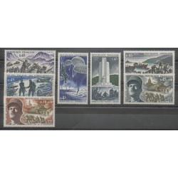 France - Poste - 1969 - Nb 1601 - 1603/1608 - Second World War
