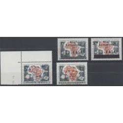 Sud-Kasai - 1961 - No 14/17 - Animaux