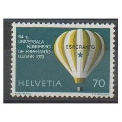 Suisse - 1979 - No 1078 - Ballons - Dirigeables