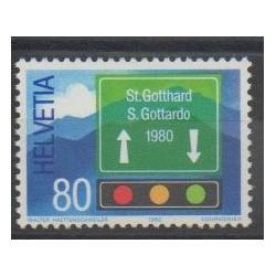 Suisse - 1980 - No 1116 - Voitures