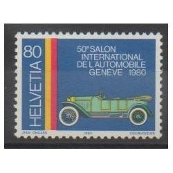 Suisse - 1980 - No 1103 - Voitures