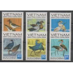 Vietnam du nord - 1972 - No 760/765 - Oiseaux