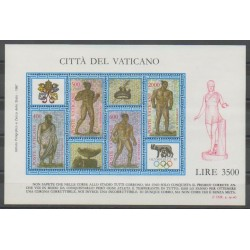 Vatican - 1987 - Nb BF9 - Summer Olympics - Exhibition