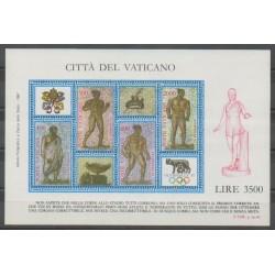 Vatican - 1987 - No BF9 - Jeux Olympiques d'été - Exposition