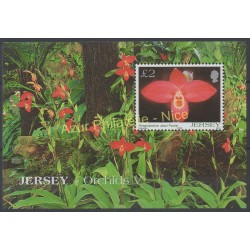 Jersey - 2004 - No BF 54 - orchidées