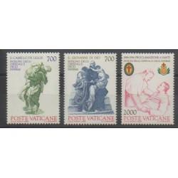 Vatican - 1986 - No 797/799 - Santé ou Croix-Rouge