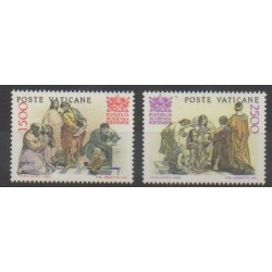 Vatican - 1986 - No 800/801 - Religion