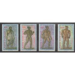 Vatican - 1987 - No 811/814 - Jeux Olympiques d'été - Exposition