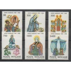 Vatican - 1988 - No 831/836 - Religion