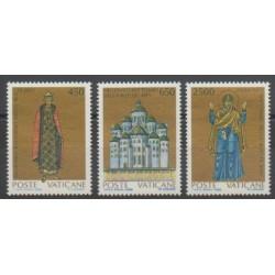 Vatican - 1988 - Nb 837/839 - Religion