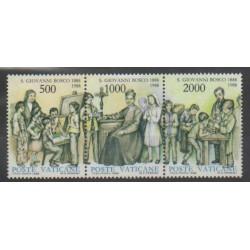 Vatican - 1988 - No 828/830 - Célébrités