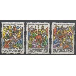 Vatican - 1990 - Nb 875/877 - Art