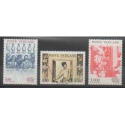 Vatican - 1988 - Nb 840/842 - Paintings