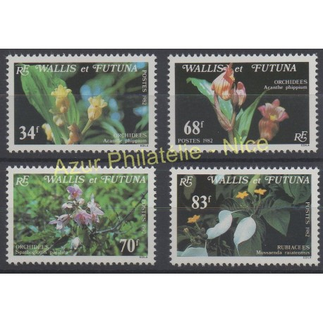 New Caledonia - Airmail - 1975 - Nb PA 165 - orchids