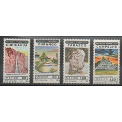 Mexique - 1982 - No 971/974 - Sites