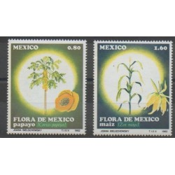 Mexico - 1982 - Nb 984A/984B - Fruits