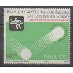 Mexico - 1981 - Nb 922 - Various sports