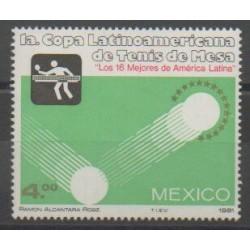 Mexique - 1981 - No 922 - Sports divers